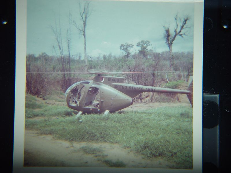 Small observation helicopter.