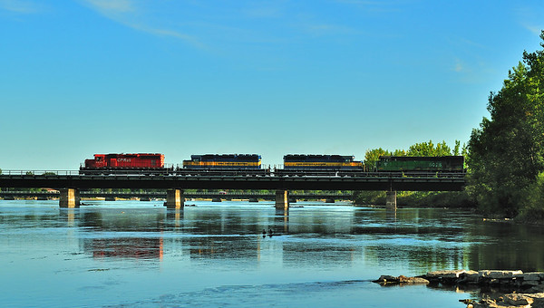 Montreal Maine & Atlantic, Train # 2,  St.Jean,  Qc