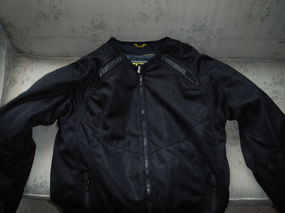 ICON Anthem Armored Textile Motorcycle Jacket