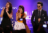 Bollywood Actress Priyanka Chopra and Actress Sonakshi Sinha and  Anil Kapoor entertaining the IIFA Crowd on 24th April 2014...pic Mohammed Jaffer-SnapsIndia