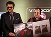 "Pakastani Sufi SInger  Ustad Rahat Fateh Ali Khan's  new album  ""Back to Love"" being released by Bollywood Actor Anil Kapoor during IIFA 2014 Awards in Tampa on 24th April 2014...pic Mohammed Jaffer-SnapsIndia"