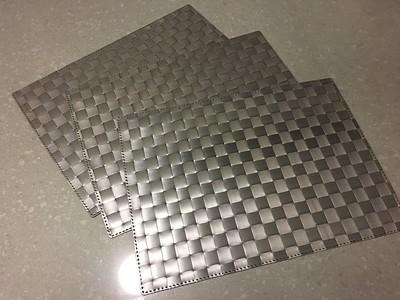 IKEA Weaved Placemats - 3 Dark Gray