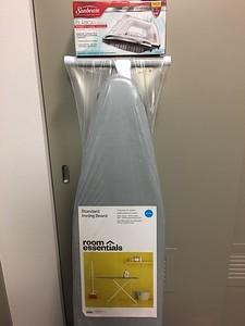 New, unopened Ironing Board and Sunbeam Clasica Steam Iron