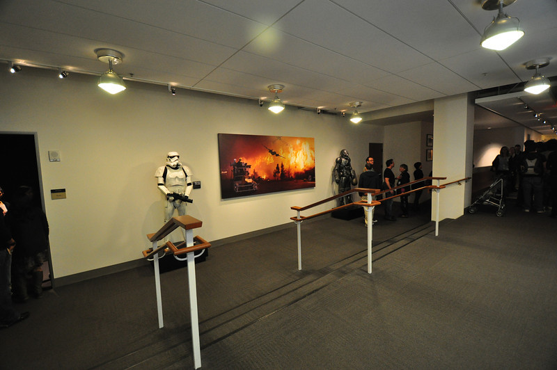 Screening room lobby