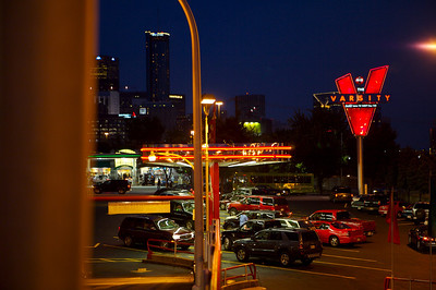 The Varsity drive-in, an Atlanta landmark