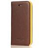 iPhone 5S Brown Folio