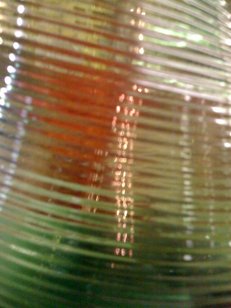 Glass at a Tarpon Springs antique store.