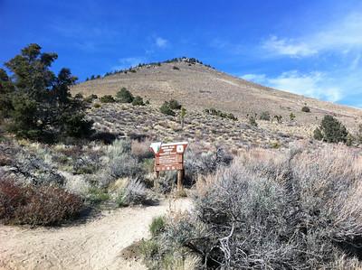 Morris Peak After Work - April 9, 2012