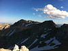 Taken with my iPhone.<br /> <br /> Mt. Irvine summit view.<br /> <br /> Mt. Mallory and Mt. Langley.