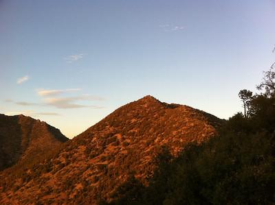 August 22, 2011.  Peak 6529 and Morris Peak.