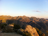 Perpendicular Peak summit view.<br /> <br /> Spanish Needle, Owens Peak and Mt. Jenkins.