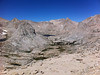 Taken with my iPhone.<br /> <br /> The Major General summit view.<br /> <br /> The Miter Basin.