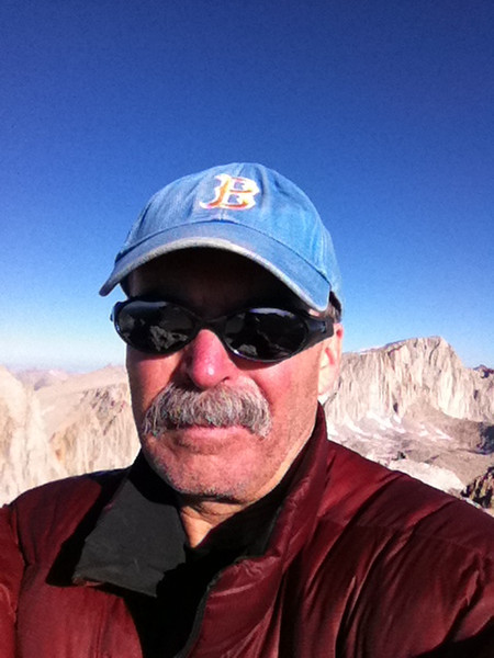 Taken with my iPhone.<br /> <br /> Mt. Mallory summit self-portrait.