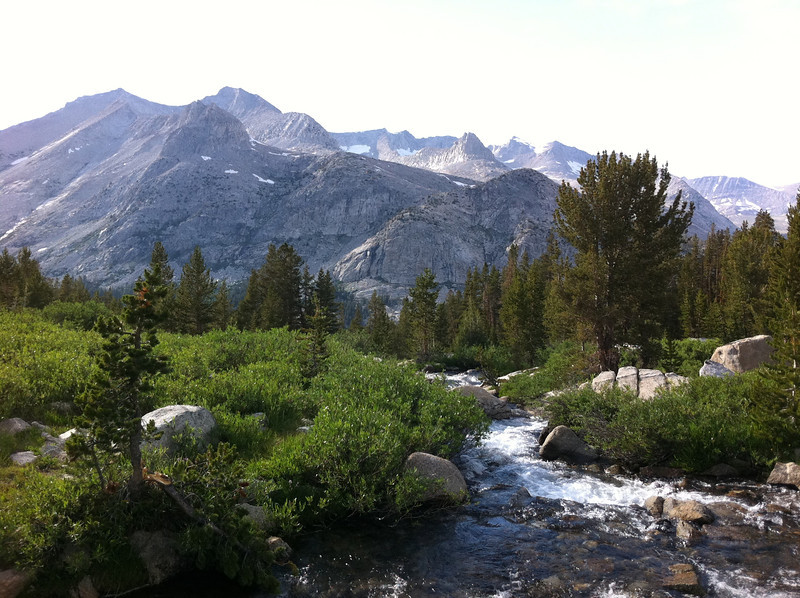 August 13, 2011.<br /> <br /> Day-climbing Arrow Peak.