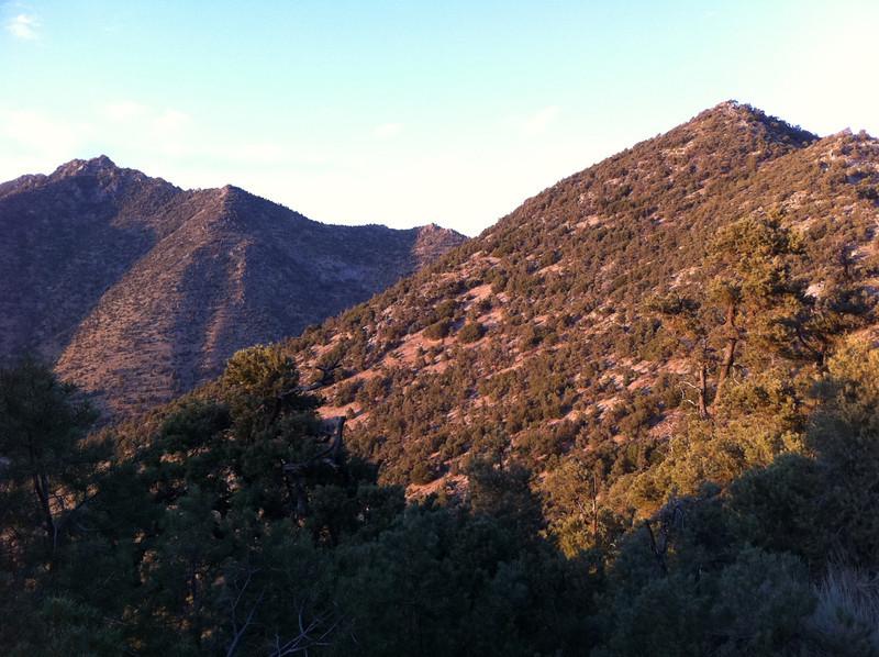 August 22, 2011.<br /> <br /> Peak 6529 and Morris Peak.