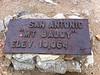 Mt. Baldy summit plaque.<br /> <br /> iPhone Photo.