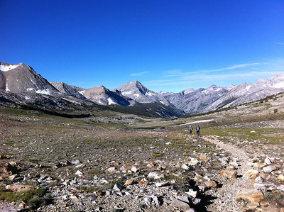 August 13, 2011.  Day-climbing Arrow Peak.