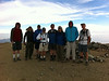 Mike P, Ryan, Rick, Frank, Patrick, Shin, Jeff, James on the summit of Mt. Baldy.<br /> <br /> iPhone Photo.