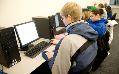 student feature, computer lab