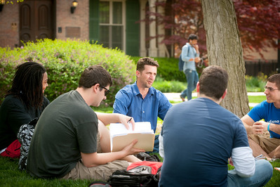 Images taken during video shoot process for new ISU television commercials