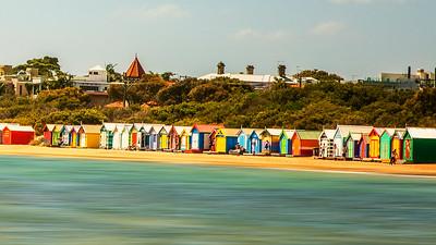 Brighton Beach Bathing Boxes  1
