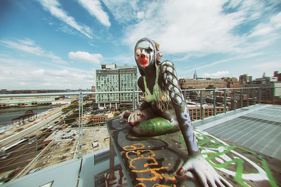 Rooftop at the Whitney - This photo is not for sale