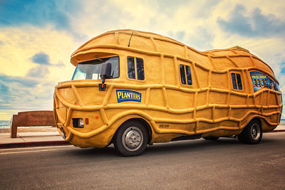 Mr. Peanut's Nutmobile