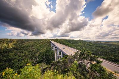 Bacunayagua Bridge, Cuba
