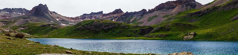 Ice & Blue lake basin