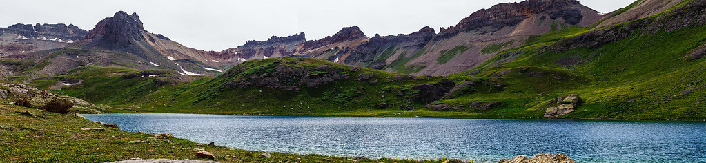 Ice & Blue lake basin