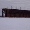 Ashland's Oredock from the ice.