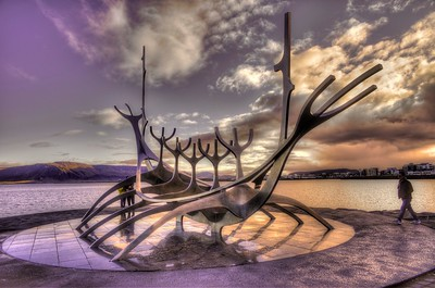 Sun Voyager in late day color