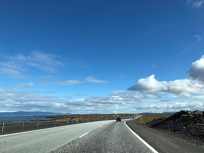 On the road to Reykjavik