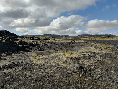 Most of Iceland is this bizarre volcanic moonscape