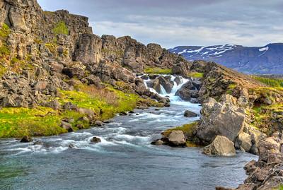 Thingvellir - lower falls