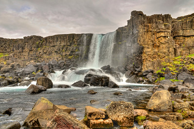 Thingvellir - upper falls