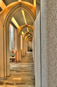 Hallgrimskirkja - interior arches