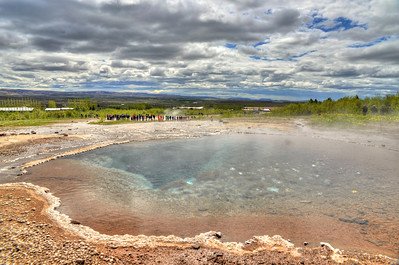 Geysir - thermal pool