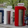 Patriotic porta-potties