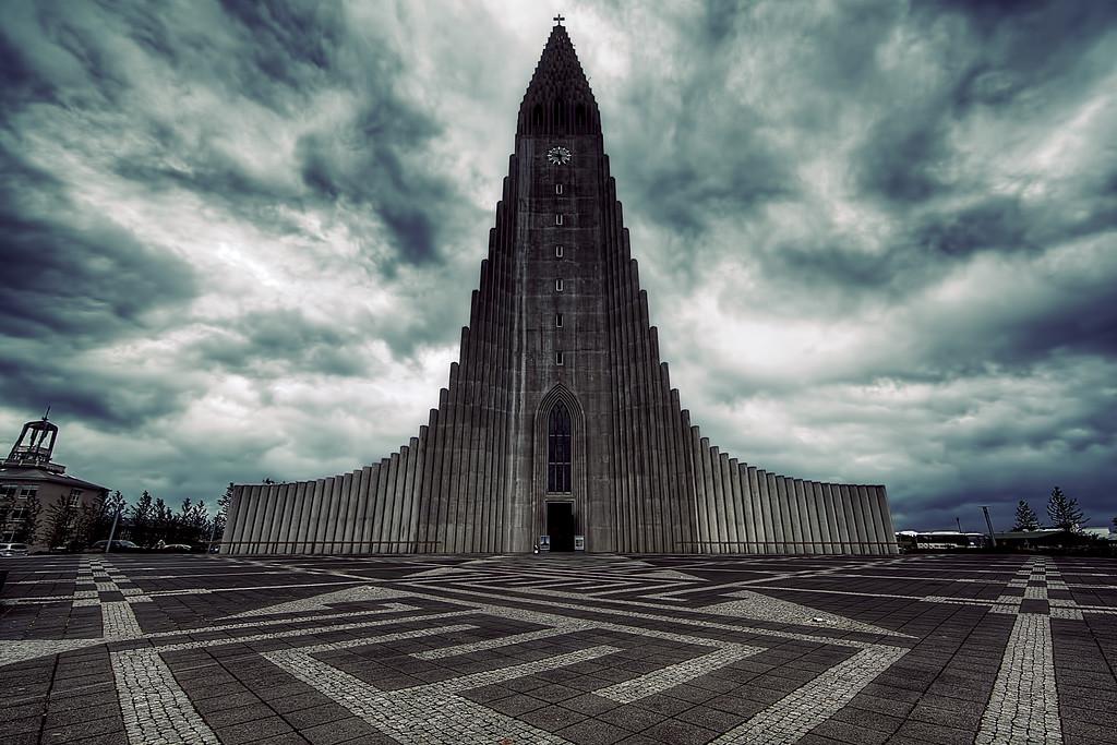 Architecure in Reykjavik