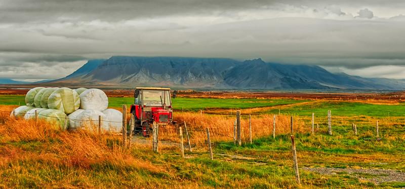 Farm on the Snæfellsnes peninsula