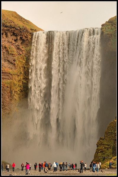Skogafoss waterfall - 3