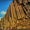 Basalt columns -2- Reynisfjara, black sand beach