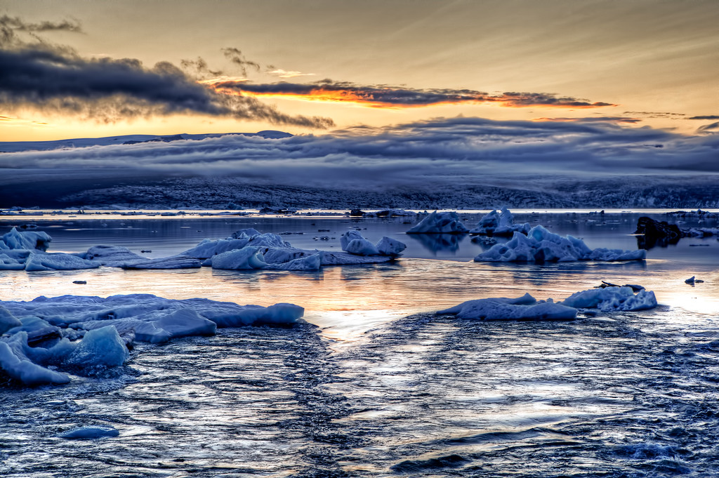 Clouds of ice