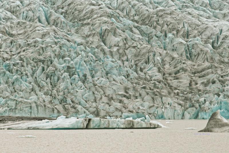 Edge of the Vatnajökull glacier