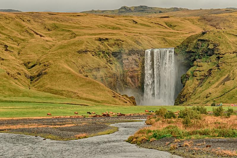 Skógafoss waterfall - 1