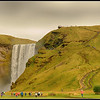 Skogafoss waterfall - 2
