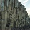 Basalt columns, Reynisfjara, black sand beach near Vik