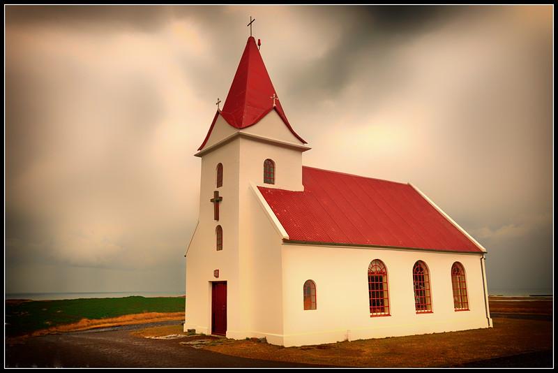 Church on Snæfellsnes peninsula