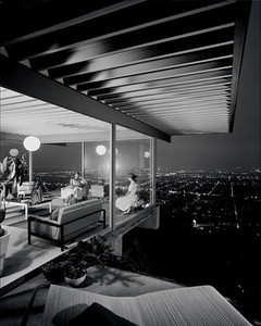 Case Study House #22, Los Angeles, 1960. Photo credit: Julius Shulman.
